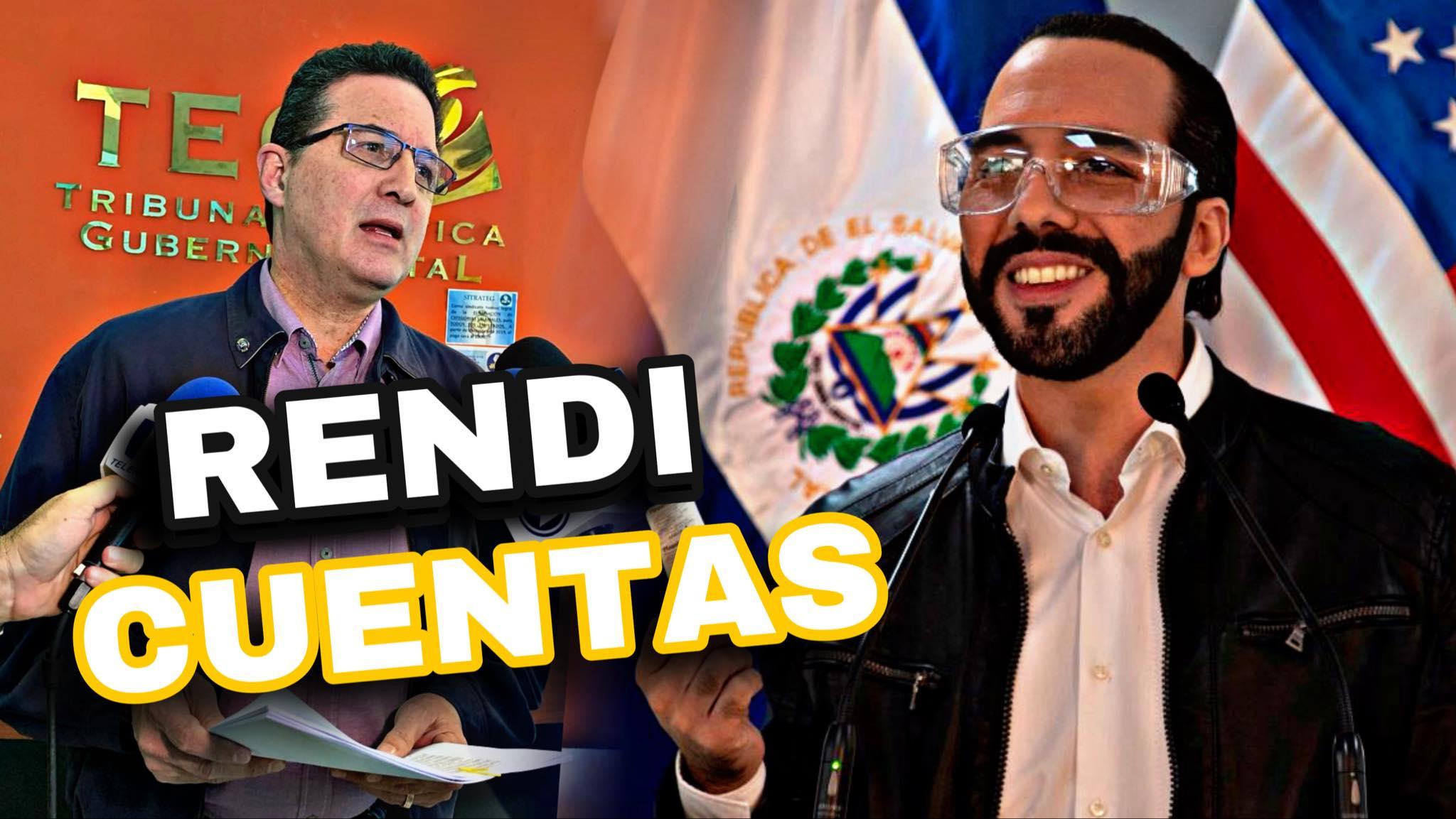 Juan Valiente Ex Dipurata Le Ordena Al Presidente Bukele