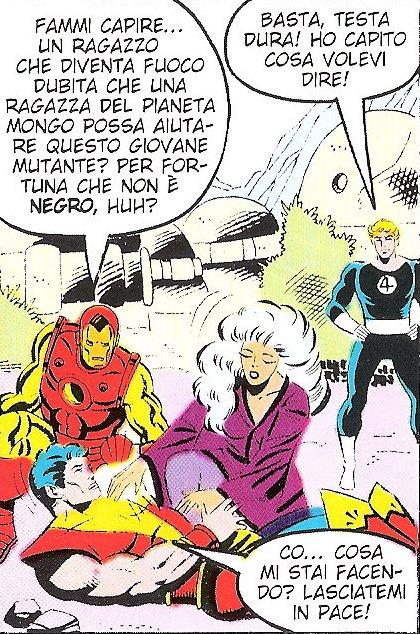 Cos'ha detto Iron Man? Domani probabilmente si dissocierà...
