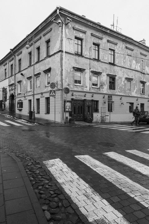 Bild: Und noch eine der zahlreichen Kneipen in Užupis.