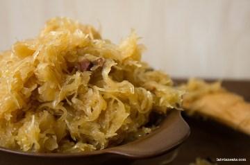 sauteed sauerkraut stoveti kaposti