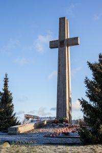 Polijas armijas I leģiona brigades pulka karavīru kapu piemiņas vieta.