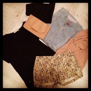 sélection vêtements été