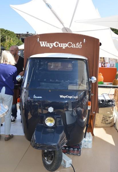 triporteur waycupcafé foodtruck st tropez