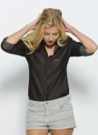 chemise bio jean denim noir verlaine et rimbaud