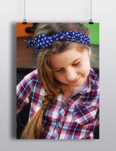 headband enfant losanges hello wooly jadhéo