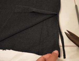 recycler vieux tshirt débardeur à franges tutoriel diy