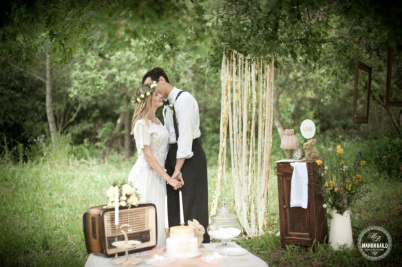 mariage vintage bohème happy dayco wedding planner var