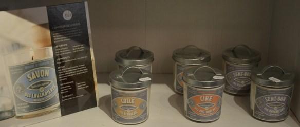 Des bougies aux senteurs de notre enfance par les bougies la française chez l'échappée belle à Toulon au Mourillon