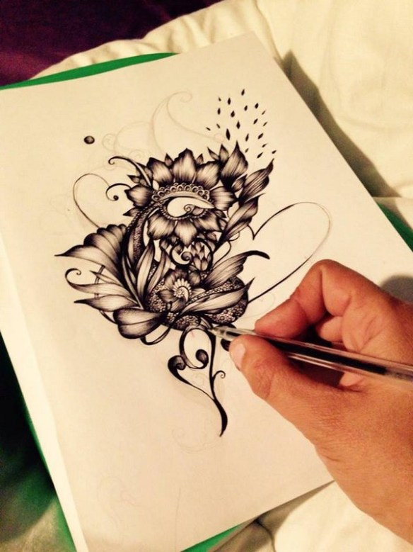 dessin-stylo-noir-blanc-floyajam-artiste-var