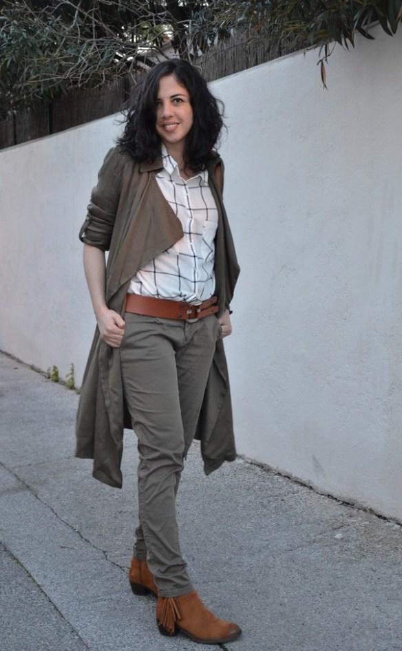 look-outfit-safari-baroudeuse-kaki-franges-camel-masculin-feminin