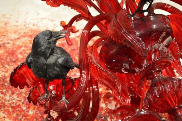 sculpture-corbeau-vanites-charogne-matelles-herault-exposition