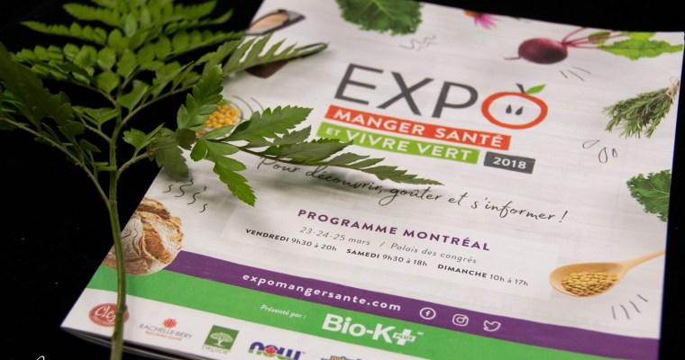 Top 50: Expo manger santé et vivre vert (2018)