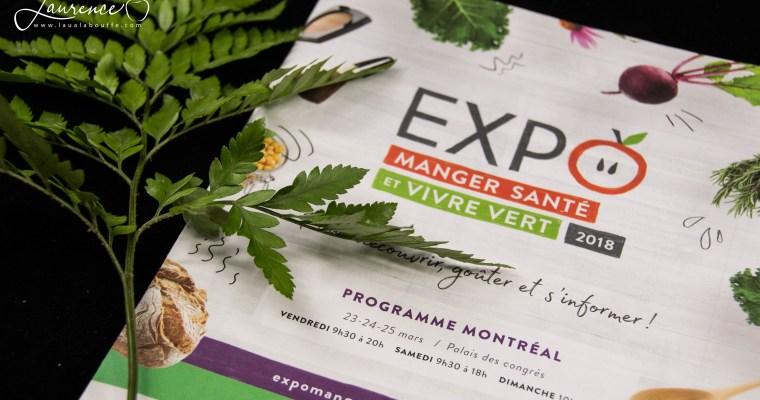 Top 30: Expo manger santé et vivre vert 2018