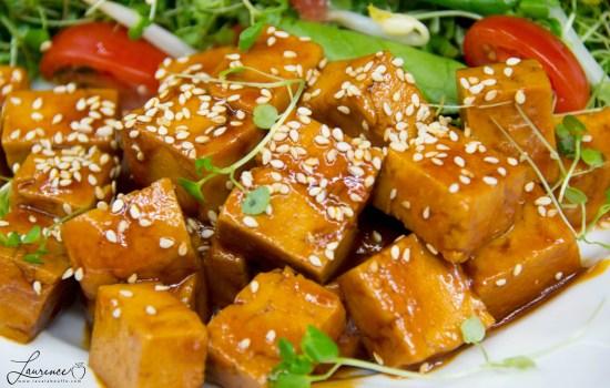 Tofu barbecue