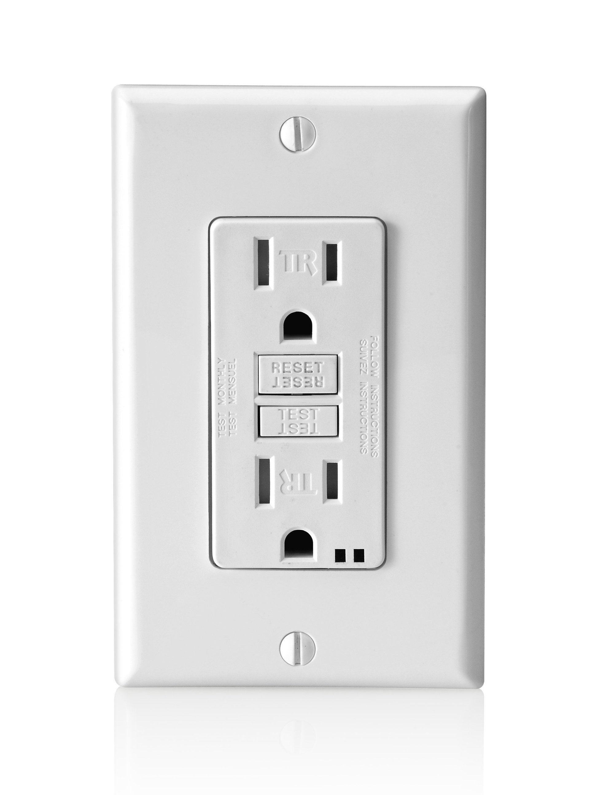 hight resolution of gfci outlets