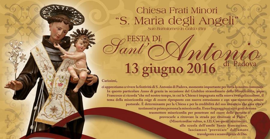 Tredicina di Sant'Antonio 2016