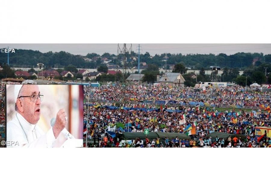 Il discorso del Papa alla veglia della Gmg