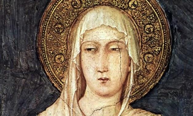La Preghiera per ottenere la Benedizione da Santa Chiara