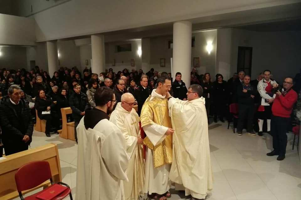 Fra Massimiliano è Diacono