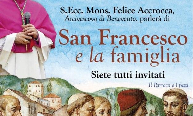 San Francesco e la famiglia