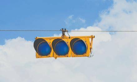 Il semaforo blu
