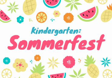 Kindergarten Sommerfest am Campus