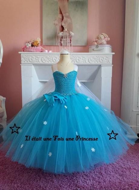 Robe de princesse fille 3 ans