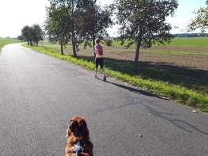 Lotta und Sigi laufend