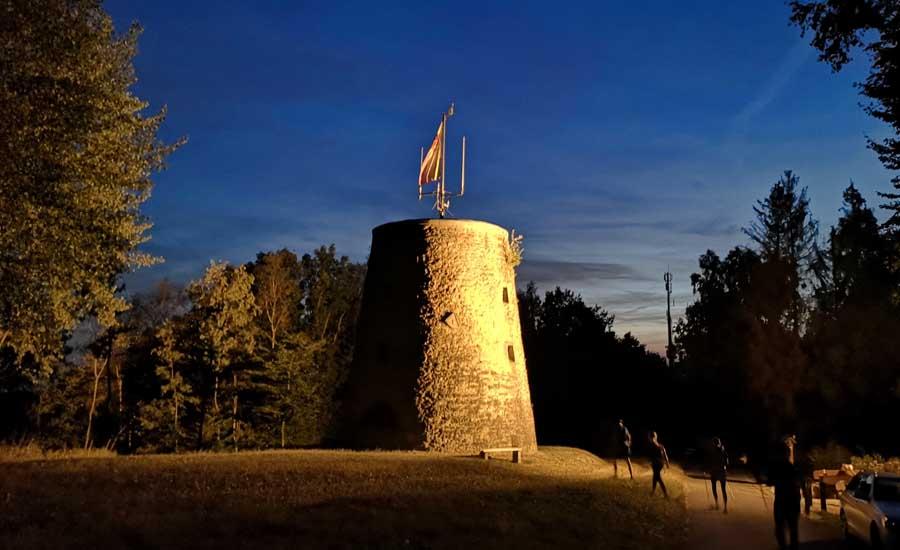 Die blaue Stunde am Tönsberg