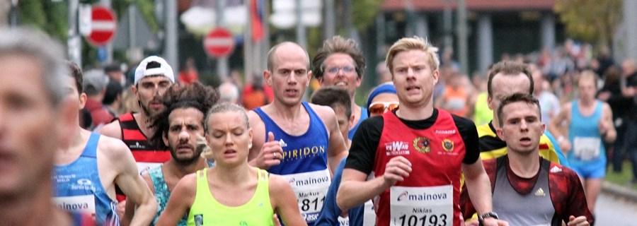 Frankfurt Marathon 2017 Flugphase