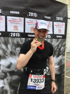 Der erste Marathon