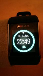 Polar M600 Display