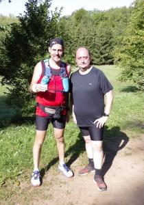 Stefan Andres Freundschaftslauf 15km mit Christian M.