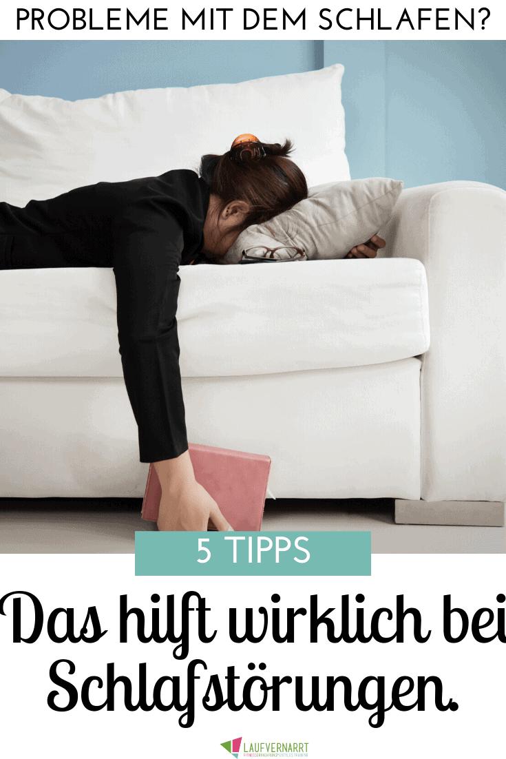 Das sind die besten Tipps gegen Schlafstörungen - so verbesserst du deinen Schlaf und deine Regeneration!