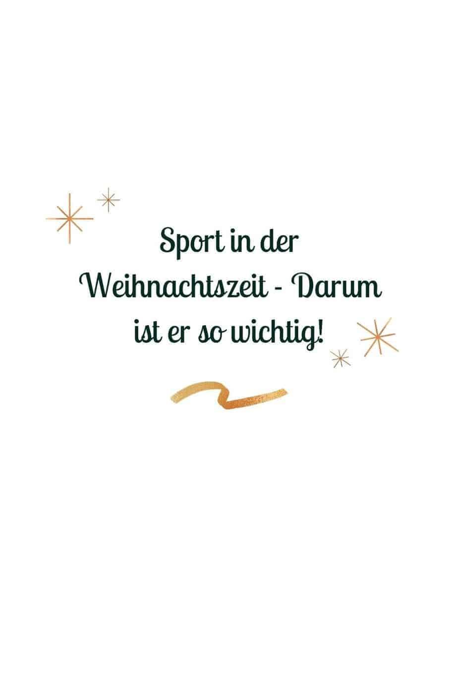 Warum #Weihnachten die perfekte Gelegenheit für dein #Training ist und wie du im #Advent deinen #Körper und Geist auf neue Levels bringst! Hier kommen die besten Gründe für #Sport im #Winter.