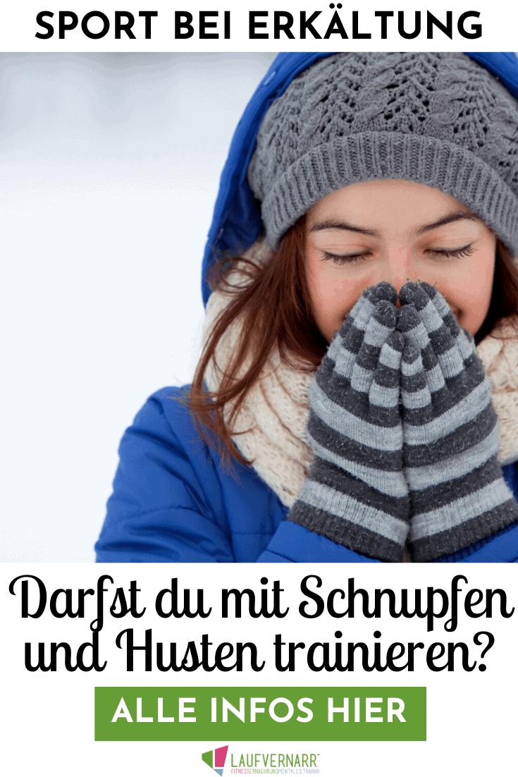 Sport bei Erkältung und Schnupfen - Darfst du bei Erkältung trainieren? Was die Studienlage sagt, wie der Sport bei Erkältung aussehen darf und wie meine persönlichen Erfahrungen sind, erfährst du in diesem Blogartikel.