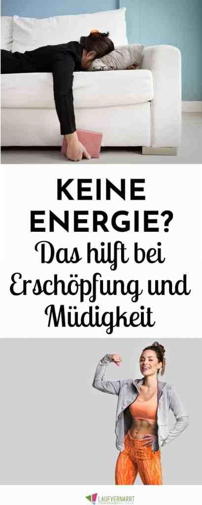 Leidest du an Erschöpfung, fühlst dich ausgelaugt und müde? Hier bekommst du Hilfe und die besten Tipps für mehr Energie. #energie #erschöpfung #müdigkeit #stress