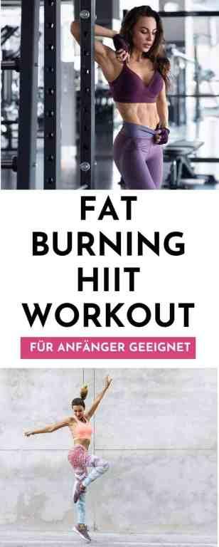 Fatburning & calorie burning HIIT - hochintensives Intervalltraining für Anfänger und ohne Geräte. Dieses Workout erwartet dich an Tag 14 der 30 Tage Fitness Challenge und kurbelt deinen Stoffwechsel sowie deine Fettverbrennung an.