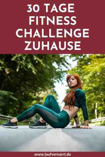 #30 #Tage #Fitness #Challenge für #zuhause - für #Anfänger und Fortgeschrittene. Dieser #Trainingsplan eignet sich perfekt für #Frauen und hilft dir, von zuhause beim #Muskelaufbau und #Abnehmen.