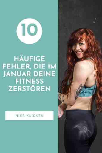 #Gute #Vorsätze für deine #Fitness? Aber Vorsicht vor diesen häufigen #Fehlern im #Januar! Machst du sie, riskierst du deine Gesundheit und deinen langfristigen #Erfolg!