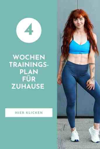 #Sport für #Frauen - #Monatsplan #Trainingsplan für #zuhause - mit diesen #Fitnessübungen stärkst du deinen Körper und hältst dich #ganzheitlich #fit!