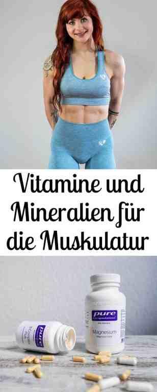 #Krafttraining: Diese #Vitamine und #Mineralien sind besonders wichtig für die #Muskulatur - alle Tipps zur #Ernährung für die optimale #Regeneration bekommst du hier.