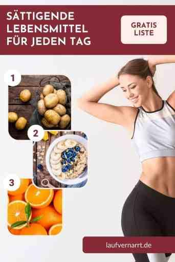 #Sättigende #Lebensmittel für jeden Tag - auch mit #wenig #Kalorien! Diese #Nahrungsmittel machen dich richtig gut #satt und helfen dir so beim #Abnehmen!