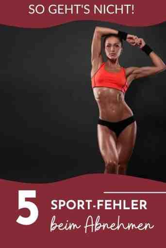 Du willst mit #Sport #abnehmen? Dann aufgepasst! Diese Fehler beim #Training behindern den #Gewichtsverlust.