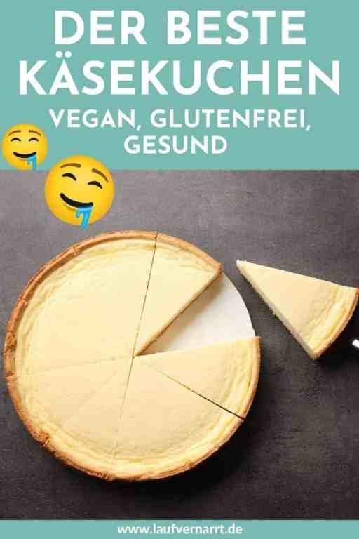 Hier kommen fünf simple #Rezepte für #Käsekuchen in #vegan, #glutenfrei und #gesund. Dieser #Cheesecake ist garantiert #zuckerfrei.