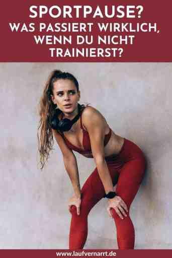 Was passiert wirklich in einer #Sportpause? Die Wahrheit über #Gewicht, #Fitness, #Abnehmen und Psyche während der #Trainingspause.
