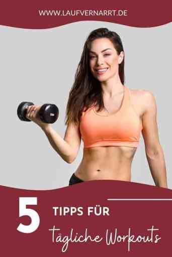 Die besten Tipps für #tägliche #Workouts - darum empfehle ich es NICHT, jeden Tag zu #trainieren.