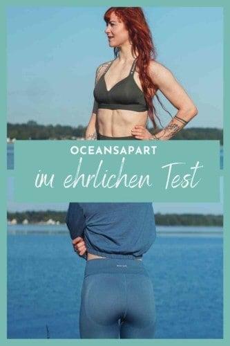 Meine Oceans Apart Erfahrungen und ehrliche Bewertung - wie gut ist die Instagram Marke wirklich? Was taugt die nachhaltige und vegane Sportkleidung? Alles über Größen, Bestellung und Qualität hier.