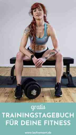 Gratis Download - Trainingstagebuch Vorlage als PDF. So erreichst du mehr Fortschritte und Motivation bei Laufen und Krafttraining mit nur einem simplen Trick!