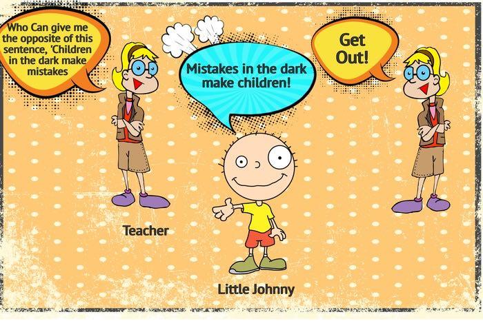 Laugh Out Loud Little Johnny Meme